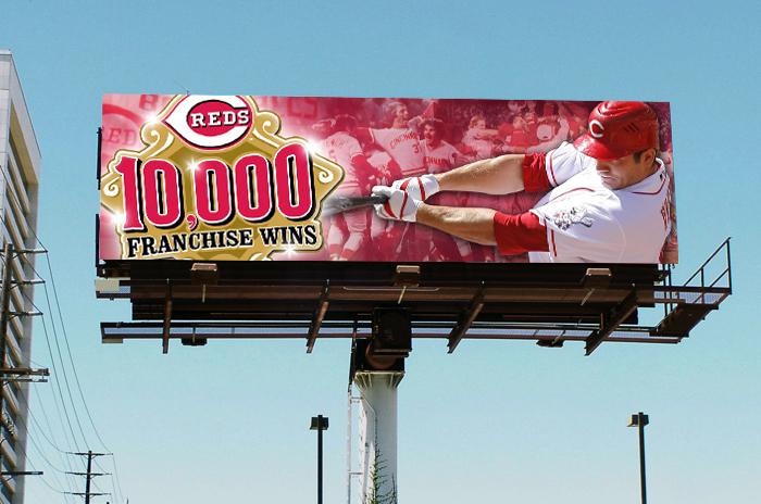 Reds digital billboard