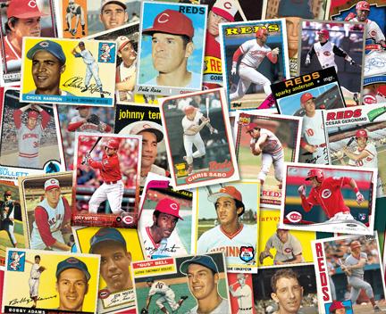 Topps Baseball Card Wall Graphic