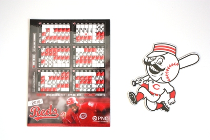 Reds magnetic schedule