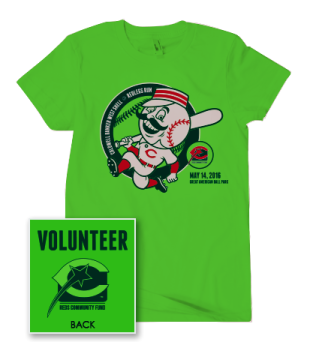 Bright green t-shirt